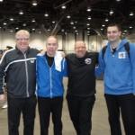 Michael Gopin, Dan Seemiller, Mark Nordby, Mark Hazinski