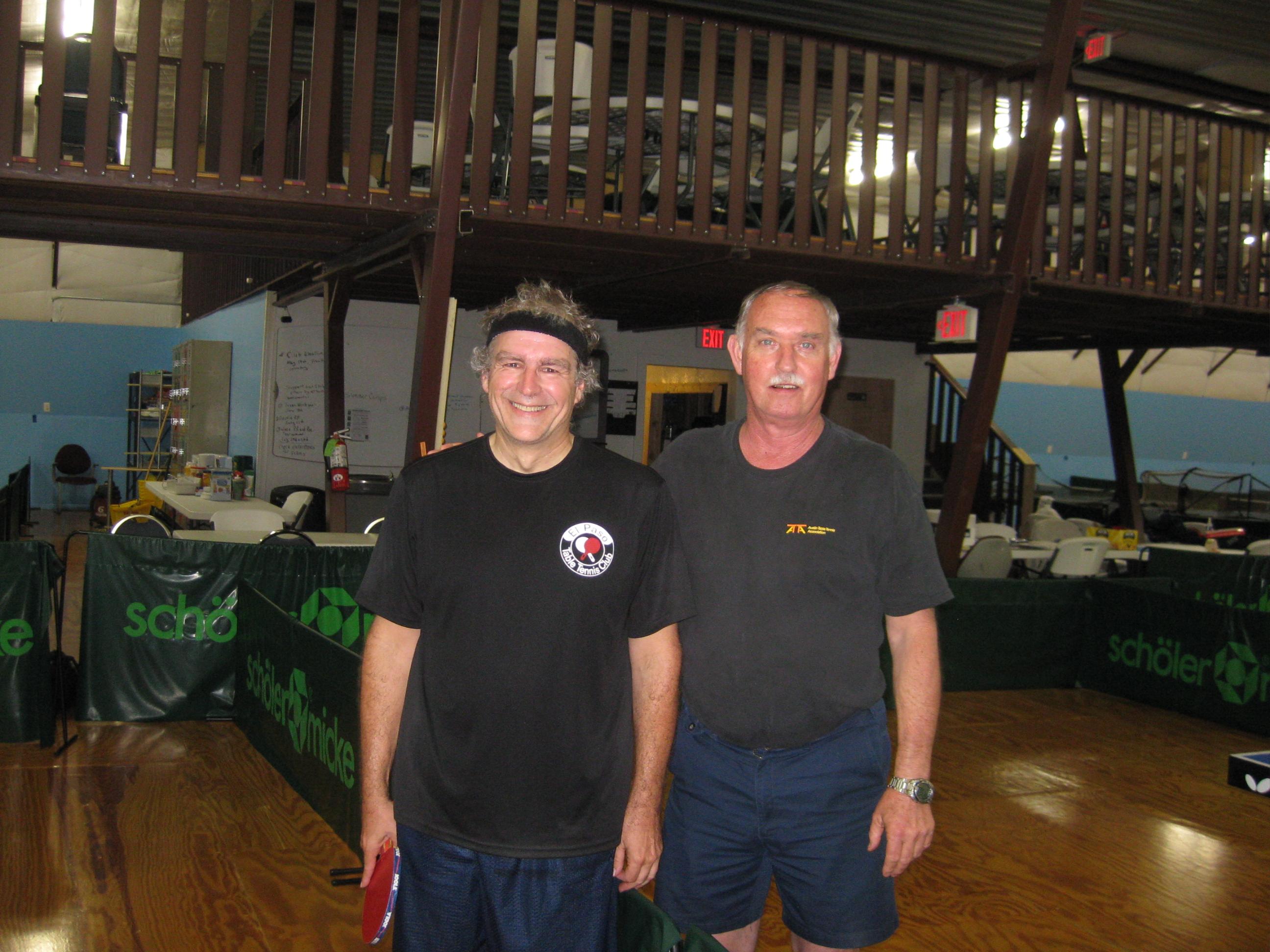 Luc Visit The Table Tennis Club In Austin Tx El Paso Table