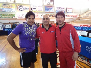 Bernardo, JJ and Chinoz having fun in Chihuahua, Mexico at the Junior Olympics last weekend