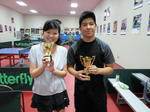 Emma Chang (2nd), and Oscar Vega (1st)